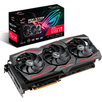 ASUS Radeon ROG-STRIX-RX5700XT-O8G-GAMING (90YV0D90-M0NA00) (AMD, Grafikkarte)