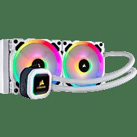 CORSAIR H100i RGB PLATINUM SE Wasserkühlung, Weiß
