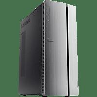 LENOVO IdeaCentre 510A, Gaming PC mit Ryzen 5 Prozessor, 16 GB RAM, 256 GB SSD, 1 TB HDD, AMD Radeon RX 560