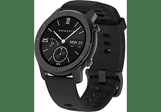 AMAZFIT GTR 42.6 mm Smartwatch Aluminium Silikon, 118 mm + 75 mm, Starry Black