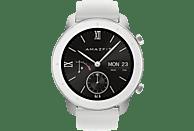 AMAZFIT GTR 42.6 mm Smartwatch Aluminium Silikon, 118 mm + 75 mm, Moonlight White
