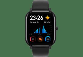 AMAZFIT A1914 GTS Smartwatch Aluminium + Kunststoff Silikon, 120 mm + 87 mm, Obsidian Black
