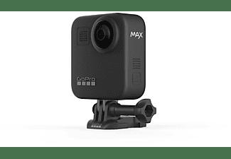 Cámara deportiva - GoPro Max, Vídeo 5.6K 30, 16.6 MP, Slo-Mo 2x, Max HyperSmooth, Sumergible 5m, GPS, Negro