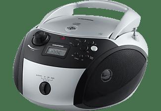 GRUNDIG GRB 3000 BT Radio, Silber/Schwarz