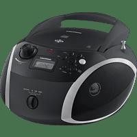 GRUNDIG GRB 3000 BT Radio, Schwarz/Silber