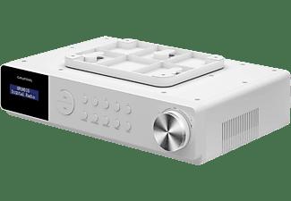 GRUNDIG DKR 1000 BT Radio, DAB+, FM, Bluetooth, Weiss