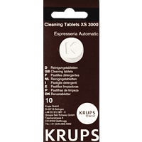 KRUPS XS 3000 Reinigungstabletten Ohne Angabe