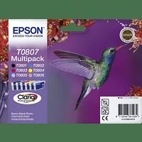 EPSON Original Tintenpatrone Kolibri mehrfarbig (C13T08074011)