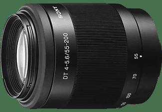 SONY SAL55200-2 55 mm - 200 mm f/4–5.6 DT, ED, Circulare Blende (Objektiv für Sony A-Mount, Schwarz)