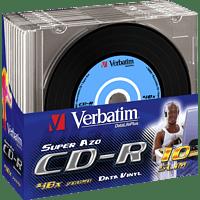 VERBATIM 43426 VINYL SLIM CD-R 700MB 52X Rohling