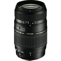 TAMRON AF 70 mm-300 mm f/4-5.6 Di, LD (Objektiv für Canon EF-Mount, Schwarz)
