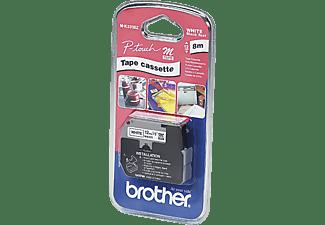 BROTHER M-K 231 Schriftband Schwarz auf Weiß