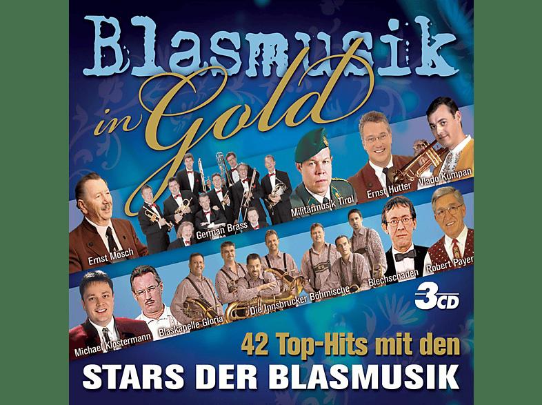 VARIOUS - Blasmusik In Gold [CD]