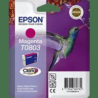 EPSON Original Tintenpatrone Kolibri Magenta (C13T08034011)