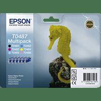 EPSON Original Tintenpatrone Seepferd Multipack mehrfarbig (C13T04874010)