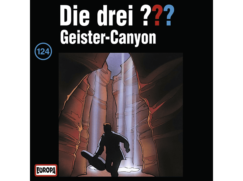 Die drei ??? 124: Geister-Canyon - (CD)