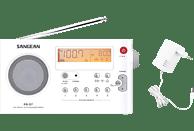 SANGEAN PR-D7 Radio (FM, MW, Weiß)