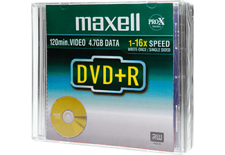MAXELL Rohlinge DVD+R 4.7GB 16x, 5er Jewelcase (35M275521)